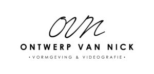 Logo - Ontwerp van Nick - ZWART