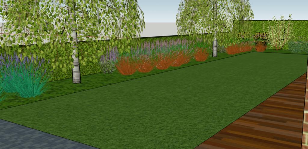 Voorbeeld tuinontwerp